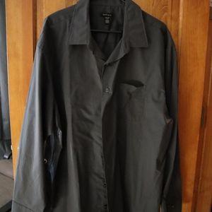 *3 for $25* dark grey dress shirt